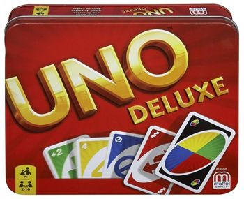 Uno - Deluxe Card Game