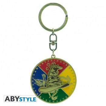 Harry Potter - Sorting Hat Metal Moving Keychain