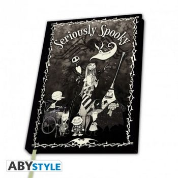 Notebook Nightmare Before Christmas - Seriously Spooky, Hardcover A5