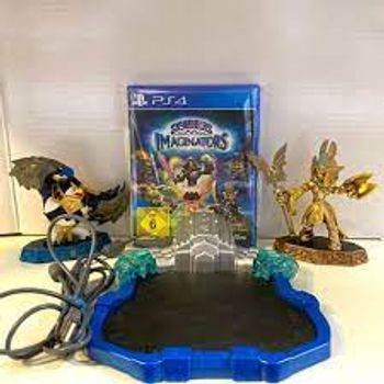 PS4 Skylanders: Imaginators Mixed Pack incl. Golden Queen, Sensei King Pen Figures [USED] (Grade A)