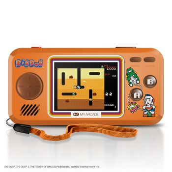 My Arcade Pocket Player - Dig Dug Portable Console incl. 3 Games