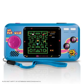 My Arcade Pocket Player - Ms. Pac-Man Portable Console incl. 3 Games