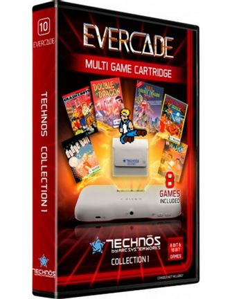 Blaze Evercade Technos Collection 1 incl. 8 Games