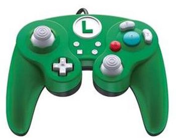 PDP Smash Pad Pro wired Controller - Luigi (Switch)