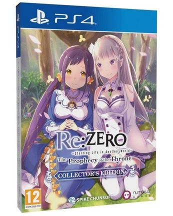 PS4 Re:Zero: Starting Life in Another World - The Prophecy of the Throne Collector's Edition