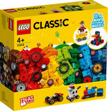 LEGO Classic - Bricks and Wheels (11014)