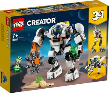 LEGO Classic - 3in1 Space Mining Mech (31115)