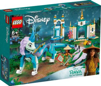 LEGO Disney Princess - Disney Raya and Sisu Dragon (43184)