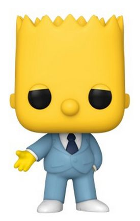 POP! Television: The Simpsons - Gangster Bart Vinyl Figure