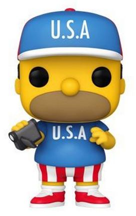 POP! Television: The Simpsons - USA Homer Vinyl Figure
