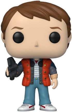POP! Movies: Back To The Future - Marty in Puffy Vest Vinyl Figure