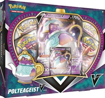 Pokemon Trading Card Game: Polteageist V-Box
