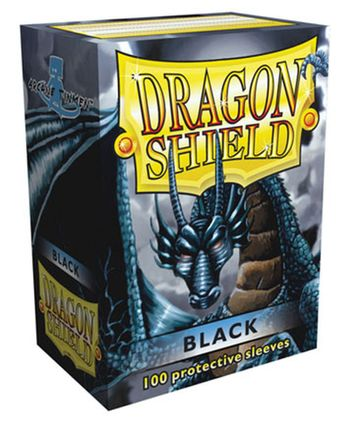 Gamegenic: Dragon Shield - Classic Black Standard Size Card Sleevs (100 pc.)