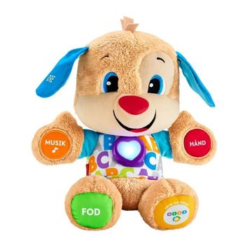 Fisher-Price - Laugh & Learn - Smart hundehvalp  (Danish)