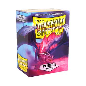 Gamegenic: Dragon Shield - Matte Purple Standard Size Card Sleevs (100 pc.)