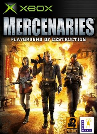 Xbox Mercenaries: Playground of Destruction [USED] (Grade B)