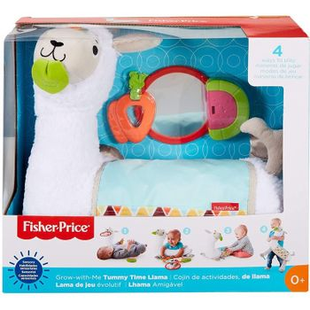 Fisher-Price - Grow-with-Me Tummy Time Llama