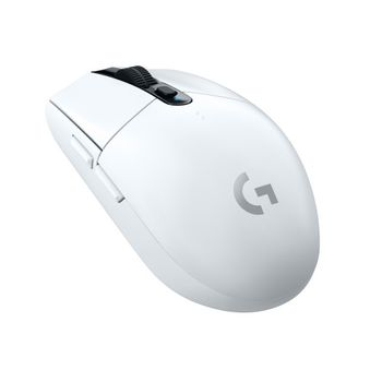 Logitech - G305 Wireless Gaming Mouse - White