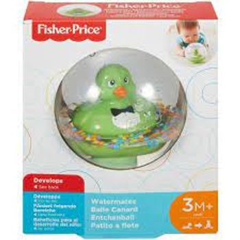 FISHER PRICE WATERMATES BALL WITH GREEN DUCK