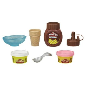 Hasbro Play-Doh Mini Drizzle Ice Cream Playset