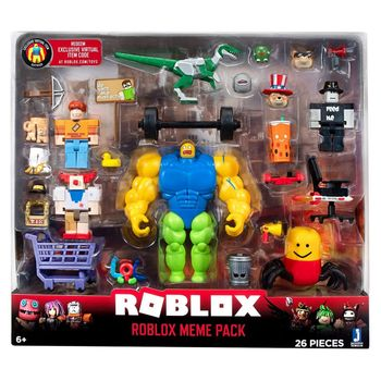 Roblox - Meme Pack Playset, 26 Pieces