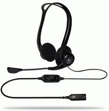 Logitech - 960 USB Headset (PC)