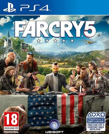 PS4 Far Cry 5 incl. Russian Audio [USED] (Grade A)