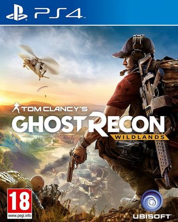 PS4 Tom Clancy's Ghost Recon: Wildlands incl. Russian Audio [USED] (Grade A)