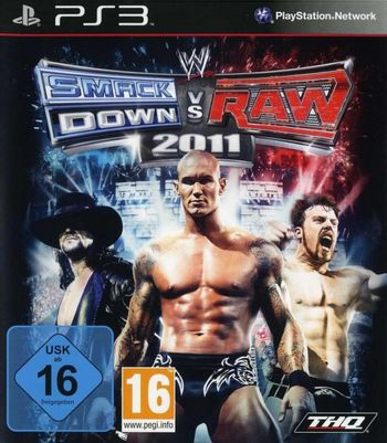 PS3 WWE SmackDown vs Raw 2011 [USED] (Grade B)