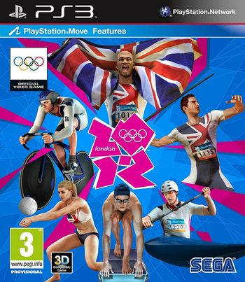 PS3 London 2012 - The Official Video Game of the Olympic Games [USED] (Grade A)