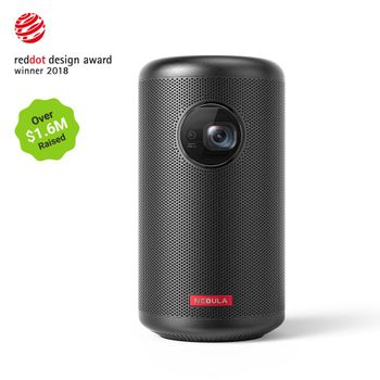 Anker - Nebula Capsule 2 Mini Projector w/Battery & Speaker
