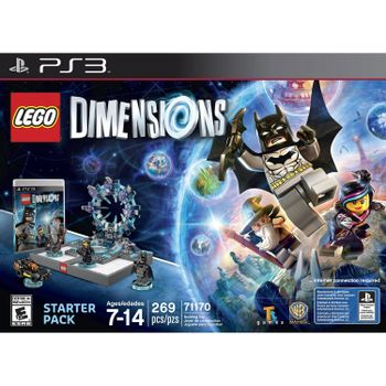 PS3 LEGO Dimensions Starter Pack US Version