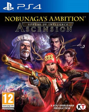 PS4 Nobunaga's Ambition: Sphere of Influence - Ascension