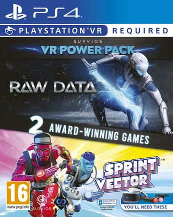PS VR Survios Power Pack: Raw Data and Sprint Vector