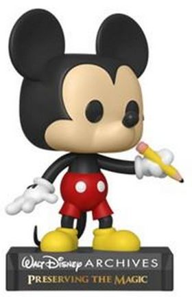 POP! Disney: 50 Archives - Classic Mickey Vinyl Figure