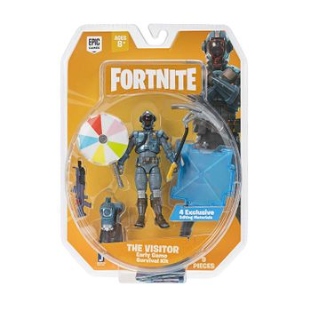 Fortnite: Early Game Survival Kit - The Visitor Action Figure Pack, 10cm