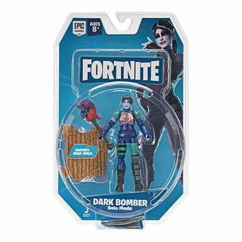 Fortnite: Solo Mode - Dark Bomber Action Figure Pack, 10cm