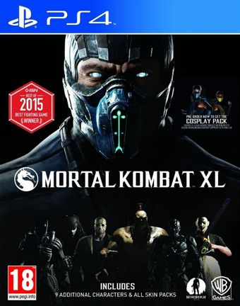 PS4 Mortal Kombat XL [USED] (Grade A)