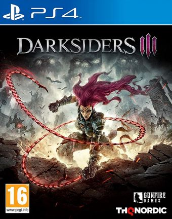 PS4 Darksiders III [USED] (Grade A)