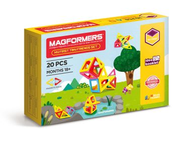 Magformers - My First Tiny Friends Set, 20 Pieces