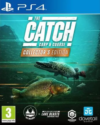 PS4 Catch: Carp & Coarse Collector's Edition [USED] (Grade A)