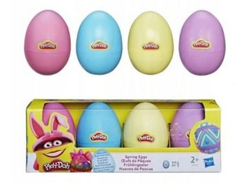 Hasbro Play-Doh 4 Pack Spring Eggs