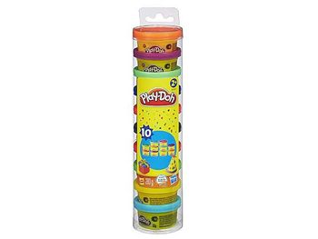 HASBRO PLAY-DOH PARTY PACK MINI TUBES (10pcs)
