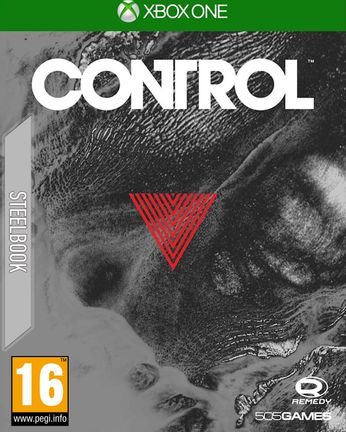 Xbox One Control Exclusive Retail Edition Steelbook