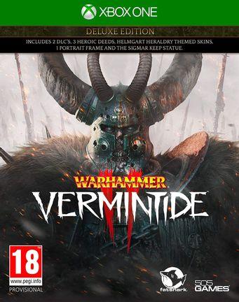 Xbox One Warhammer: Vermintide 2 Deluxe Edition