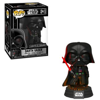 POP! Star Wars - Darth Vader Electronic Bobble-Head with Lights and Sound