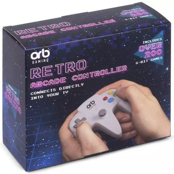 ORB Retro Arcade Controller incl. Over 200 8-Bit Games
