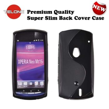 Telone back case S-Case for Sony MT15i/MT11i Neo V black