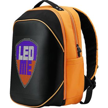 Prestigio LEDme MAX backpack, animated backpack with LED display - Orange