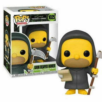POP! Television: The Simpsons Treehouse of Horror - Grim Reaper Homer Vinyl Figure